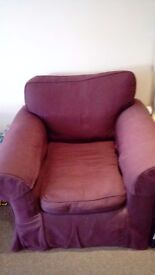 A 2 year old excellent condition Sofa Sofa Armchair. All covers come off yo eash.