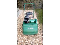 Qualcast 43s petrol mower