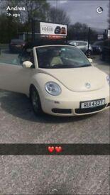 2008 volkswagen beetle convertible 1.6 petrol