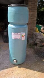 Indirect vented combo hot water tank