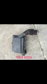 MK3 ASTRA AIR BOX FOR SALE