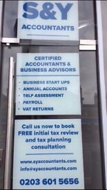 Tax Return from £75, Self Assessment, CIS Rebates,Tax Refund, VAT, Payroll, Accountant, Bookkeeping