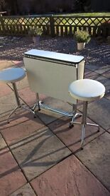 Retro Kitchen table and stools