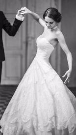 ORIGINAL PRONOVIAS MELISSA WEDDING DRESS STUNNING