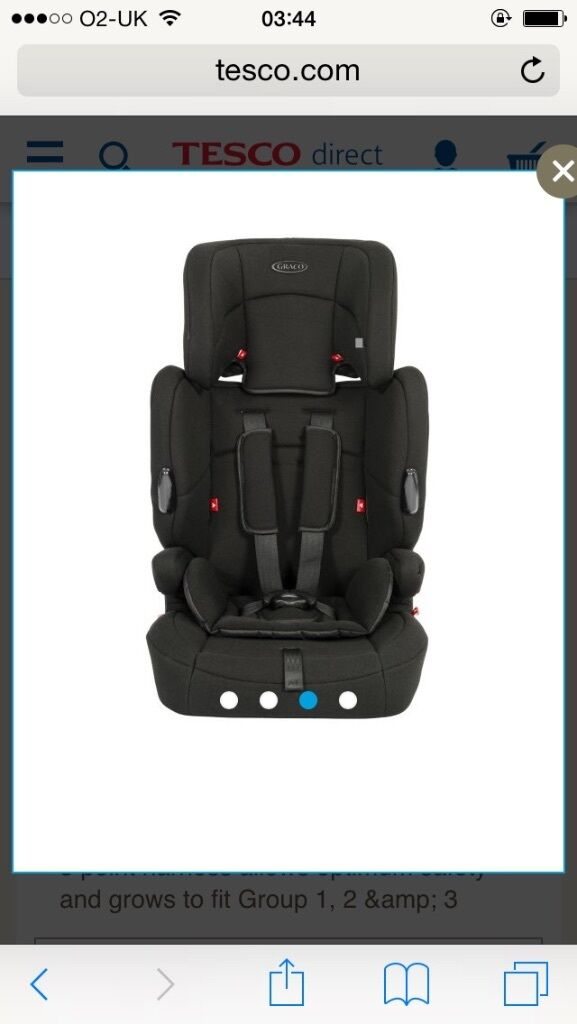 a2bd854ea08e Graco endure car seat - group 1-2-3 | in Penilee, Glasgow | Gumtree
