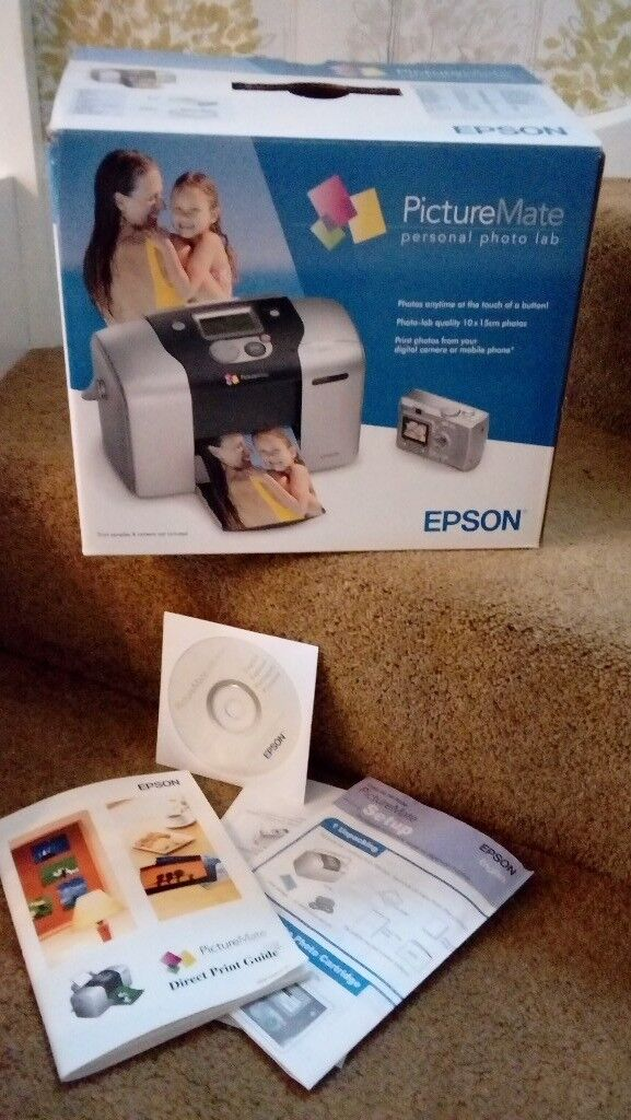 Epson Picturemate Personal Photo Lab For Digital Cameras In