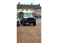 jeep cherokee highly modified 4x4 offroad beast road legal