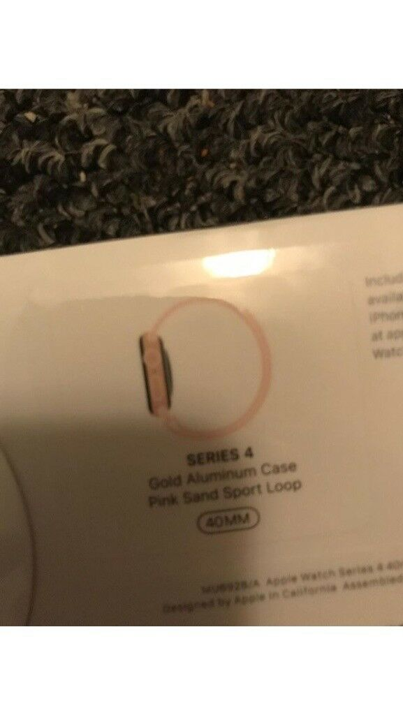save off 60d60 e69ad Apple I watch Gen 4 gold and pink sand sport loop 40MM | in Sherwood,  Nottinghamshire | Gumtree