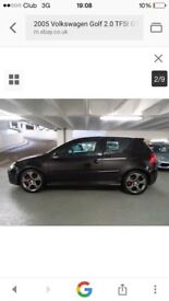Vw golf Gti dsg full history Px swap