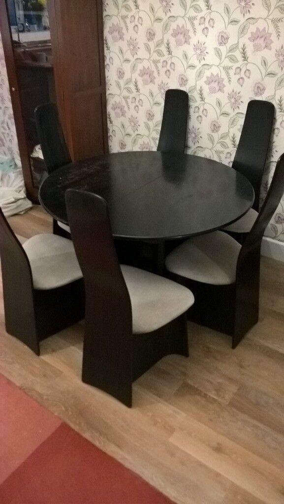 Terrific G Plan Black Ash New Seasons Extending Round Dining Table Download Free Architecture Designs Rallybritishbridgeorg