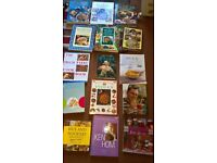 CLEARANCE SALE OF ALL MY COOKERY/BAKING BOOKS OVER 50 FAB TITLES LIKE NEW/NEW