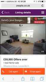 Urgent 1 bed flat for sale