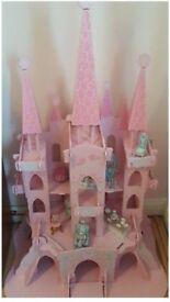Elc wooden snow queen castle