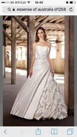 Essence of Australia wedding dress size 14