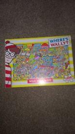 WHERE'S WALLY? 1000 PIECE JIGSAW COMPLETE GLUSBURN BD20 8DW,W.YORKS SUTTON IN CRAVEN ,SKIPTON