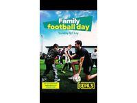 Goals Leicester family fun day