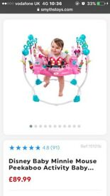 Minnie Mouse Jumperoo