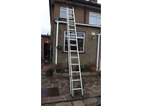 2 SECTION LADDER, Rock solid, made in GERMANY
