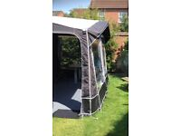 Kampa Jamboree 390 Large Porch Awning in excellent condition