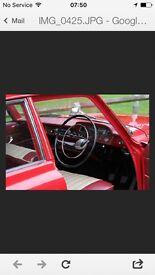 1963 Ford Zephyr Mark 3, 4 cylinder