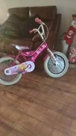 "Girls 16"" Barbie Bike"