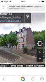 Large 2 bedroom flat for sale, 18 Rosevale, Port Glasgow