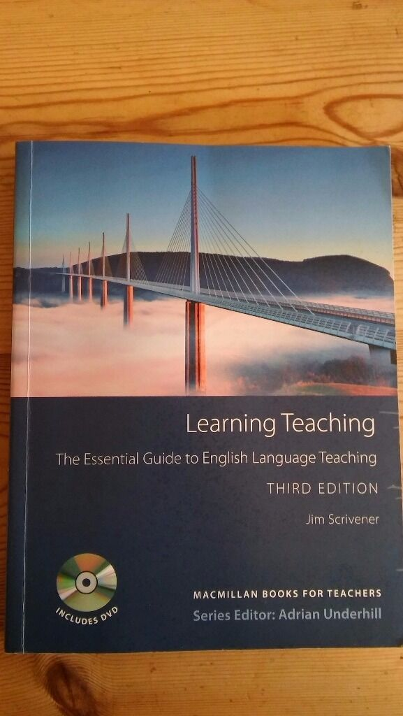 Learning Teaching by Jim Scrivener - An essential book for CELTA ...