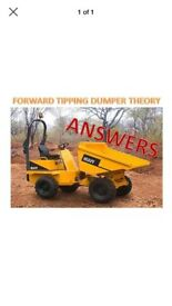 CPCS dumper theory test questions/answers