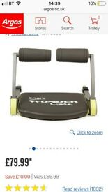 Smart wonder core abs brand new gym fitness
