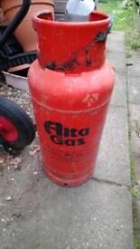 Altagas / flogas Propane 3/4 full gas tank