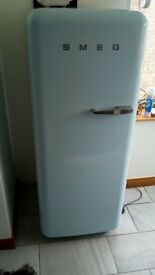 Light Blue Smeg Fridge Freezer