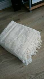 Hand woven throws 140x 200cm