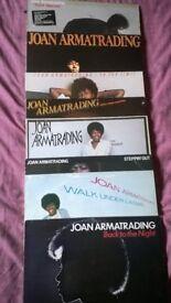 Vinyl/Records Albums Joan ARMATRADING Vinyl Record COLLECTION Total x 8