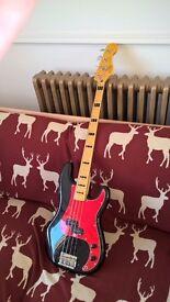 Squire Precision Bass, 70s Vibe