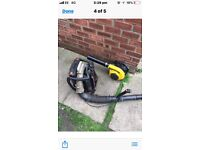 2 x petrol leaf blower