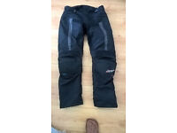 RST sinaqua icp motorcycle trousers