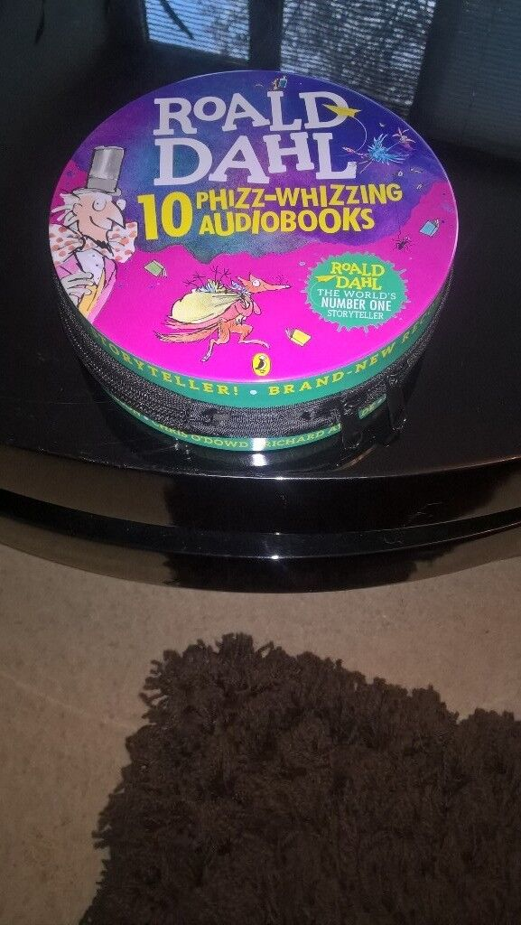 ROALD DAHL 10 PHIZZ-WHIZZING AUDIOBOOKS. BRAND NEW. COLLECTION ONLY.