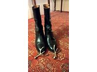 Boxed Pair of Mess Wellingtons with Spurs