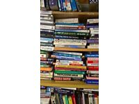 50p BOOK SALE ALL OUR BOOKS H/B & P/B GREAT TITLES EX. CONDITION MANY NEW LIKE NEW CLEARANCE SALE