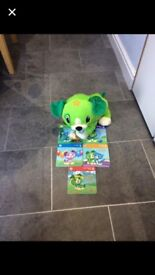 Leapfrog Scout read with me and 5 books