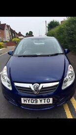 Vauxhall Corsa 2009 , Diesel, Manual, 119 mlg. Drive and Handles Excellently!