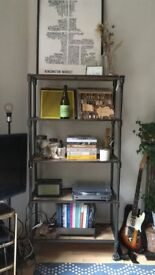 Industrial Heritage Bookshelf (Urban Outfitters)