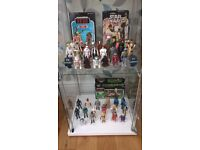Vintage Star Wars Figures Toys / Collections Wanted. Cash Paid and Will Travel!