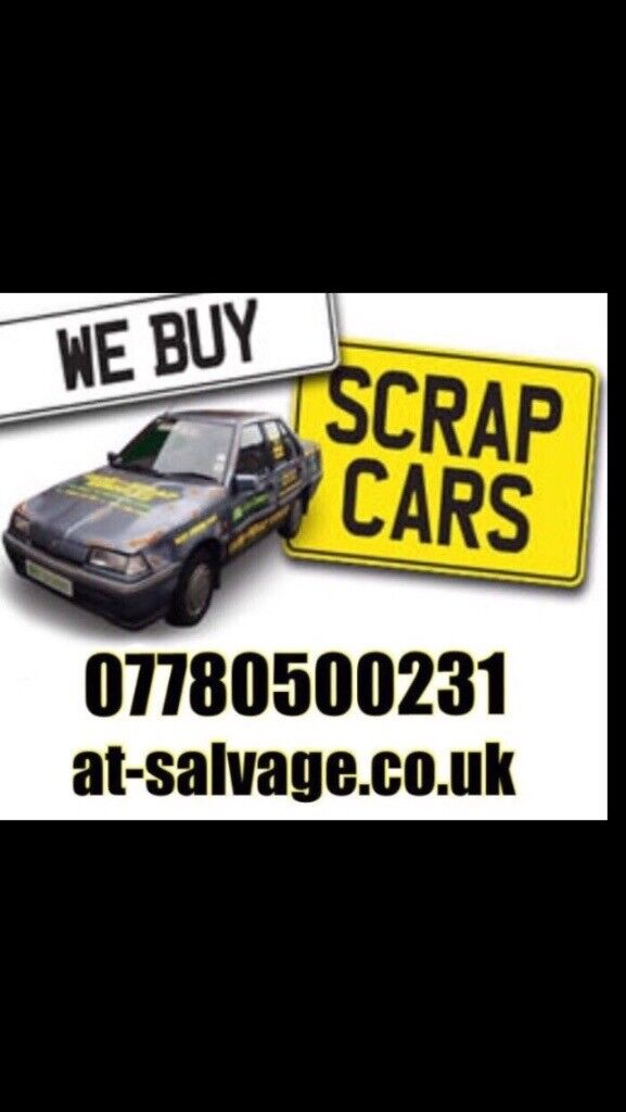 Scrap my car for cash on collection scrap a car or van today at ...