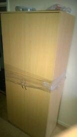 wood wardrobe want gone asap !