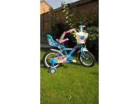 Girls kids childs bicycle