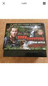 Bear Grylls 10 DVD Box Set