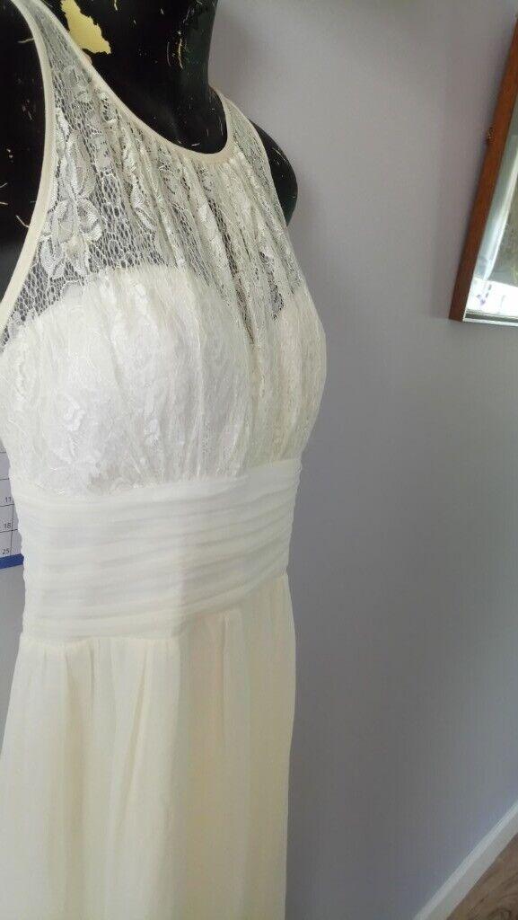 ecef8e11de7238 Wedding evening maxi dress size 16 | in Grantham, Lincolnshire ...