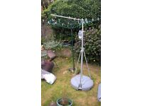 flag pole 15ft? extendable / water base / shop advertising / scouts / etc. £25