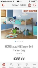 Single Mid-Sleeper Kids Bed